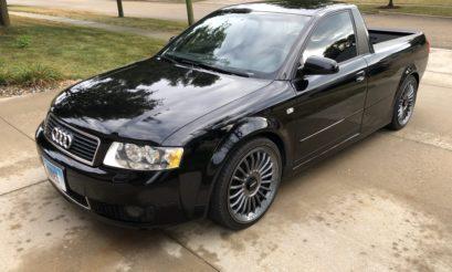 Audi   A4 bakkie   conversion   modification