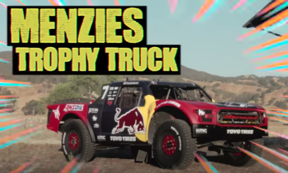 Hoonigan | Hoonicorn | Trophy Truck | Bryce Menzies | Ken Block | drag race