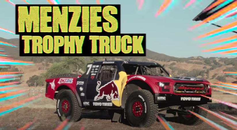 Hoonigan | Hoonicorn | Trophy Truck | Bryce Menzies | Ken Block | drag race