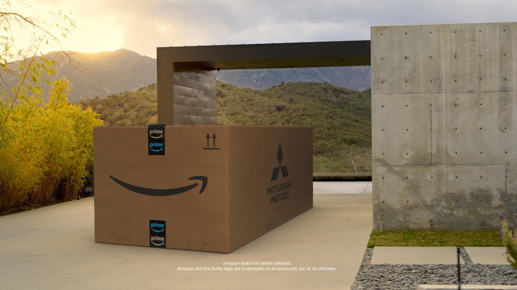 Mitsubishi | 2022 Outlander | reveal | Amazon Prime