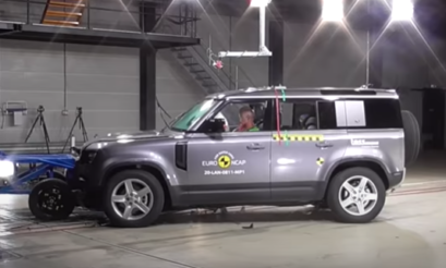 Land Rover | Defender | 2020 | crash test