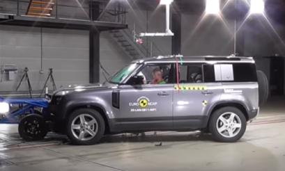Land Rover | Defender | 2020 | crash test